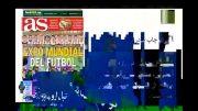 مروری بر سرتیتر روزنامه های اسپانیا در استانه ال کلسیکو