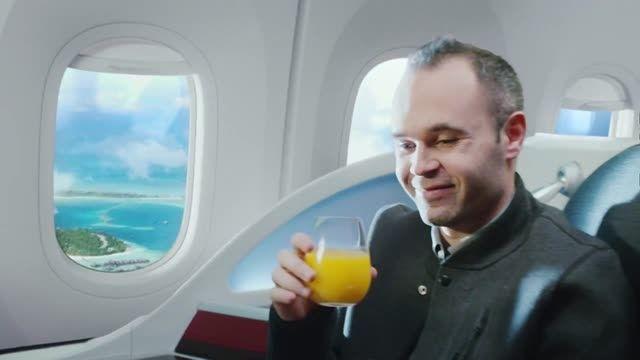 دانلود تبلیغ هواپیمایی قطر