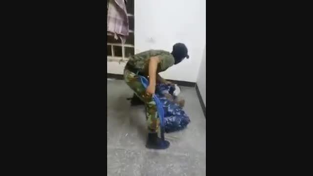 دستگیری جاسوس داعش در لباس پلیس امنیتی عراق