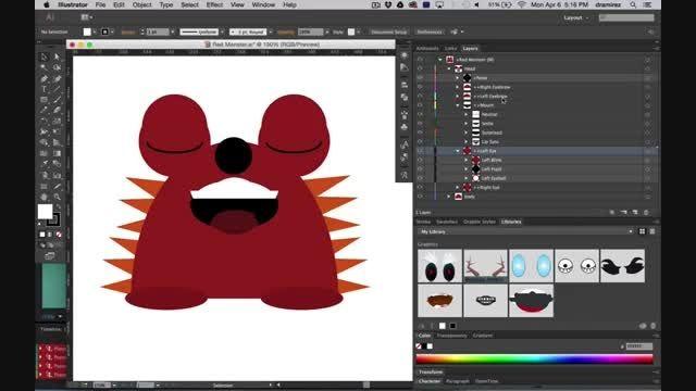ادوبی Character Animator شخصیت انیمیشنی را متحرک می کند