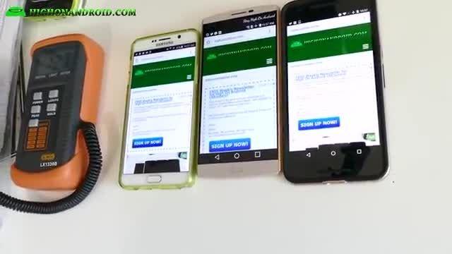 مقایسه باتری Note 5 vs LG V10 vs. Nexus 6P