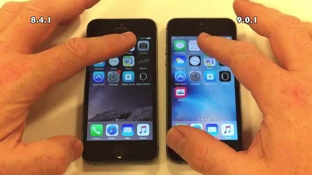 مقایسه iOS 8 با iOS 9 روی آیفون 5S - زومیت