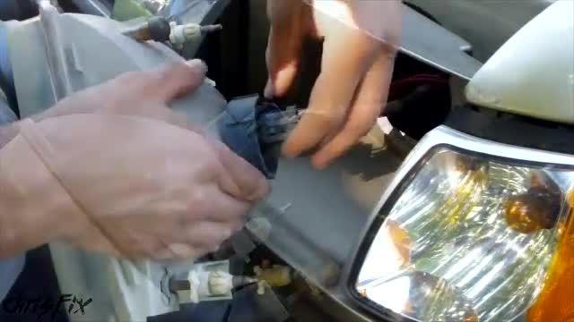 نحوه حذف بخار از چراغ جلو ماشین