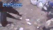 ترکیدن تعدادی داعشی به دست ارتش عراق با گفتن یاعلی