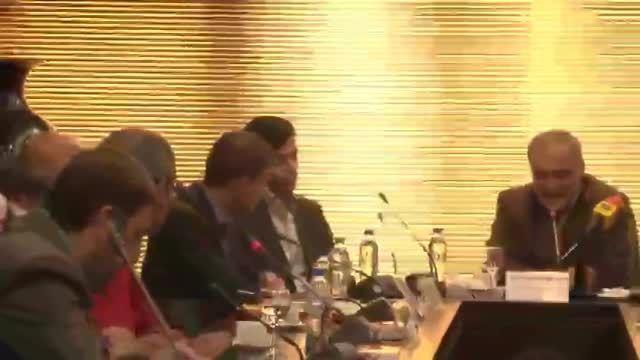 کنفرانس خبری هیئت سوئیسی و استاندار خوزستان-بخش اول