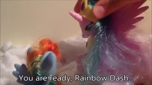 how rainbow dash become alicorn