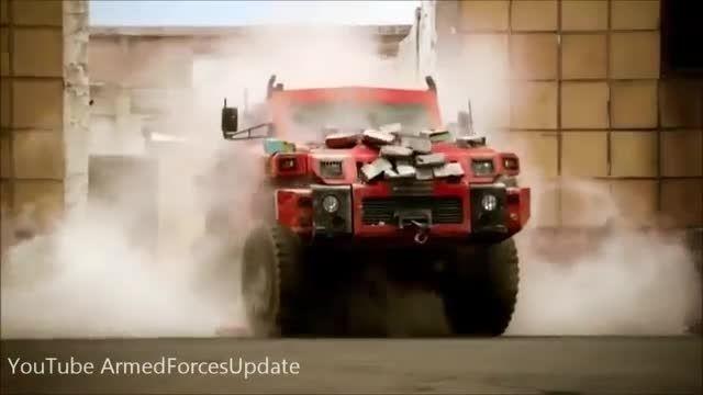 خودرو بسیار قدرتمند جنگی