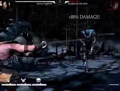 گیم پلی Mortal Kombat X  در آندروید و ios