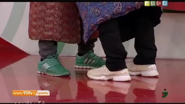 طنز خندوانه - کشتی عروسکی طنز و جذاب با گزارشگری نیما..