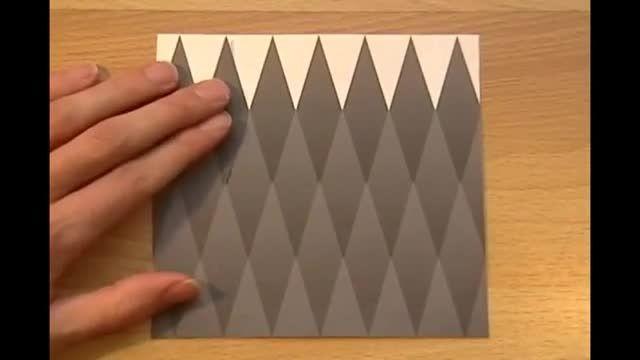 خطای دید خیلی خیلی جالب(رنگ لوزی چه رنگه؟؟)