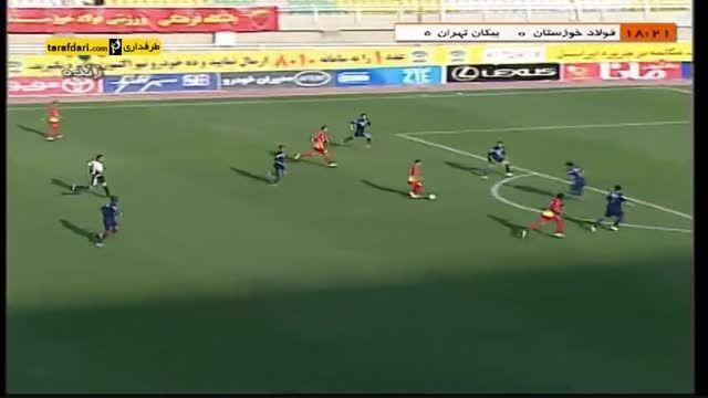 خلاصه بازی فولاد خوزستان 0-0 پیکان تهران