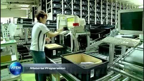 تور خط تولید و کارخانه ATEN تایوان