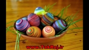 مدل های تزئین تخم مرغ رنگی عید نوروز 1393