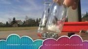 تولید هیدروژن از واکنش آب و آلومینیوم و سود پرک (سود سوزآور)