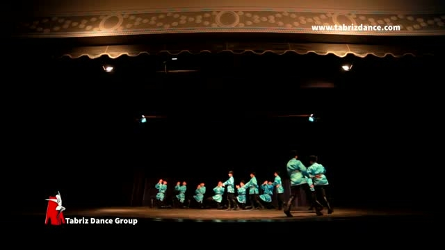 رقص آذری شله قوی (شالاخو) گروه رقص آذربایجانی تبریز