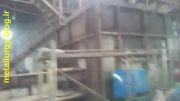 مشعل  و کوره غبار چوب سوز برای ذوب آلومینیوم  با قدرت
