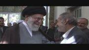 دیدار مرحوم سید علی اکبر پرورش با رهبر انقلاب اسلامی