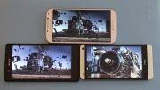 sony xperia z-htc one-galaxy s4 تست صفحه نمایش گوشی های