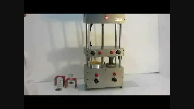 دستگاه دو منظوره تولید نان پیتزا قیفی وچتری