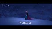 Let It Go به 13 زبان بخش 1 (ساخت خودم)
