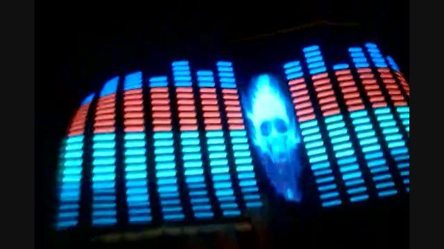 اکولایزر صوتی ماشین مدل جمجمه آتشین