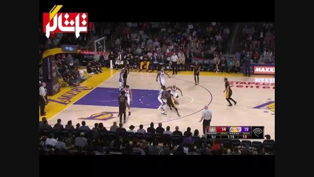 خلاصه بسکتبال : میلواکی - لس آنجلس لیکرز ( ویدیو )