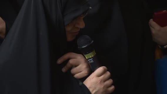 سخنرانی دکتر بروجردی در مراسم تدفین فرزندش(دکتر معتمدی)