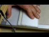 برش فوم توسط دستگاه 9-hot wire