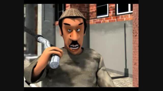 انیمیشن موزیکال گروه 125 - قسمت 4 گودبرداری