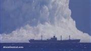 انفجار اتمی در اقیانوس آرام