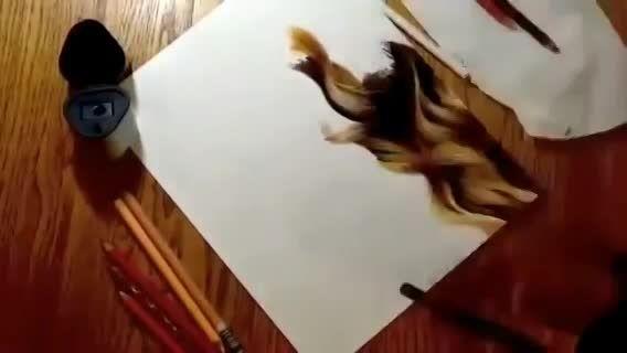 نقاشی حرفه ای از تیلور سوئیفت