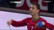 تمامی گلهای بازی پرتغال و سوئد
