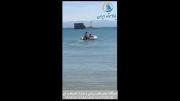 قایق جیمینی با موتور قایق پارسان 5 اسب بخار