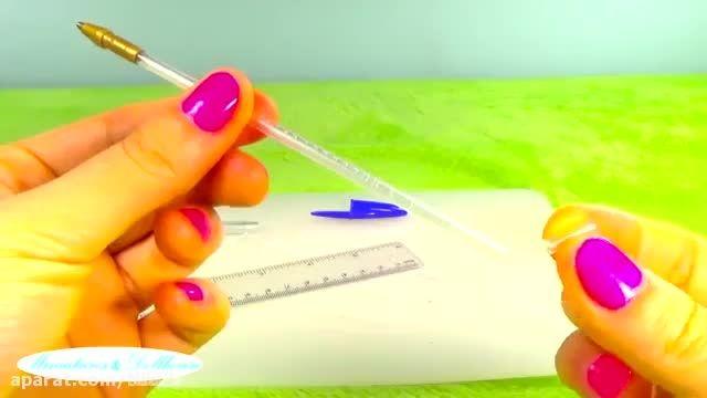 آموزش ساخت رژ لب برای باربی