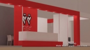 طراحی و اجرای غرفه نمایشگاهی دیزاینی