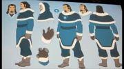 قسمتی هایی از ساخت فصل دوم انیمیشن The Legend Of Korra