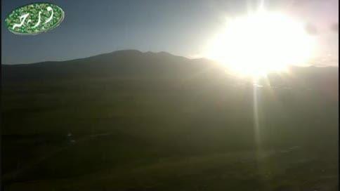 غروب 13 بدر بالای کوه سیاه روستای ورچه ورچمن