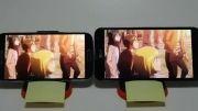 مقایسه صفحه نمایش LG G PRO و S4