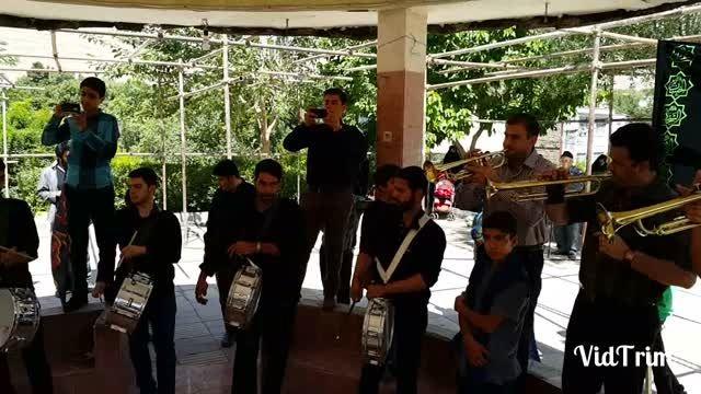 گروه موزیک شهرستان دماوند در روز شهادت امام صادق(ع) 94