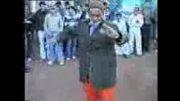 رقص پیرمرد 100 ساله