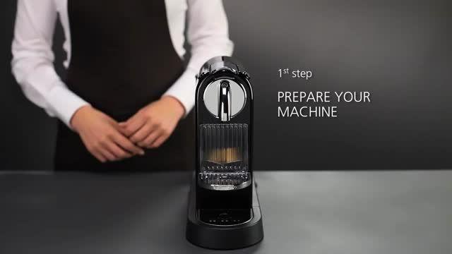دستگاه کپسولی نسپرسو مدل CITIZ