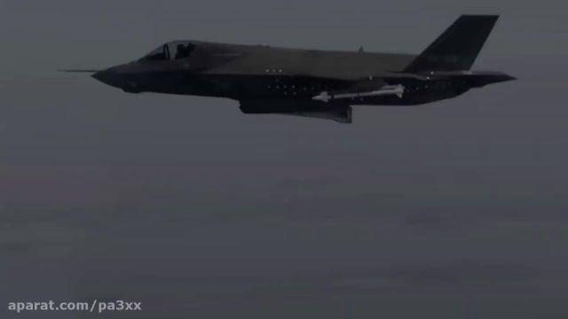 کلیپ زیبا از جنگنده اف 35 تست   HD720p