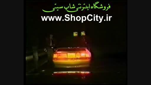 صحنه واقعی تصادف شدید پلیس راهنمایی حین انجام وظیفه