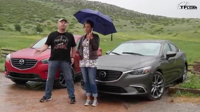 Mazda 6 در مقابل مزدا CX-5 جدید 2016 در  TFLCar