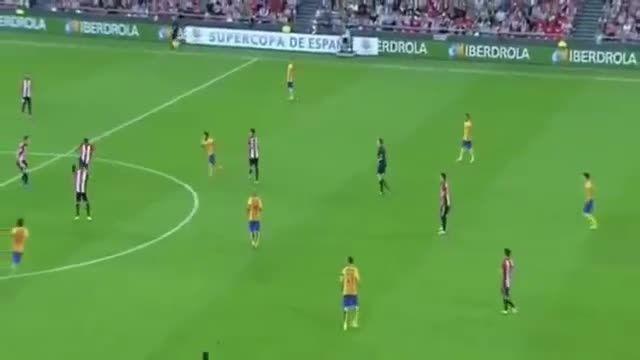 گل اتلتیکو بیلبائو به بارسلونا - سوپر جام اسپانیا