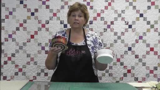 آموزش 1- چهل تکه دوزی زنجیره ایرلندی از خانم جینی دوان