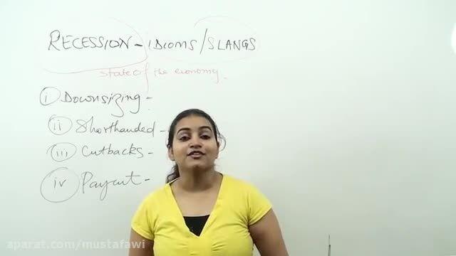 آموزش زبان انگلیسی (کلمات جدید، اصطلاحات، اسلنگ ها)