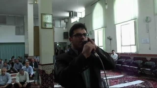 موذن نمازجمعه مهربان آقای حمید رزاق نژاد مهربانی