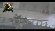 سوریه شکار فیلمبردار وهابی هنگام رپرتاژ از شکار تانک