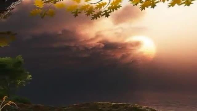 """موزیک بیکلام و آرامش بخش""""رقص برگها""""-پیانو:فریبرز لاچینی"""